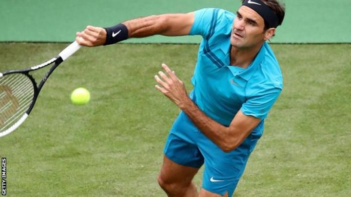 Roger Federer beats Mischa Zverev on return to tennis