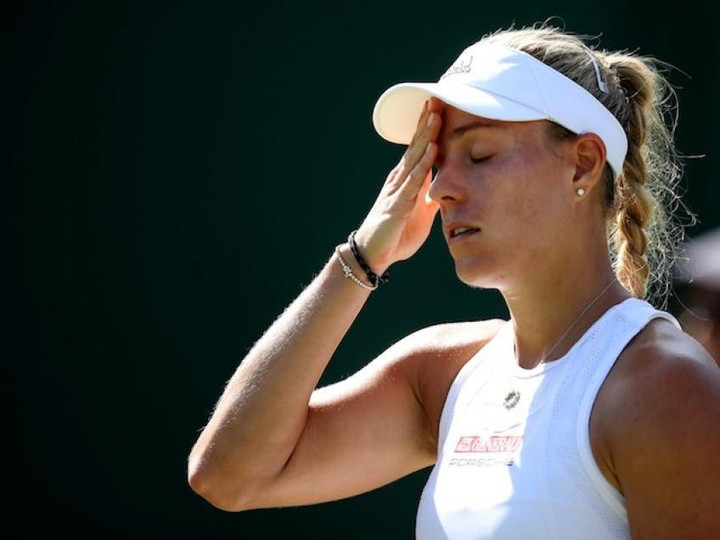 Defending champion Angelique Kerber after loss:'Of course I'm disappointed'