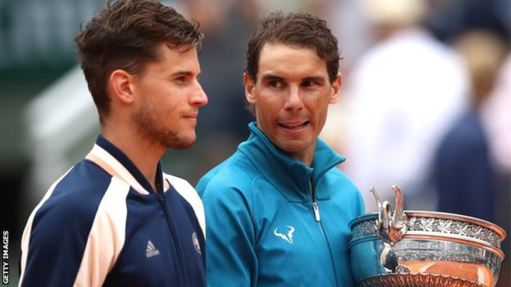Rafael Nadal not 'crazy' about catching Roger Federer