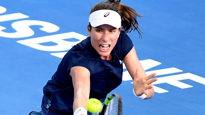Johanna Konta beats Madison Keys in tough Brisbane International opener