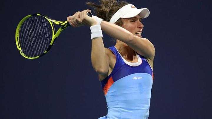 Johanna Konta reaches second round of Miami Open