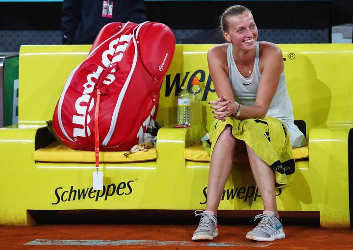 Madrid Open: Petra Kvitova digs deep to beat Kiki Bertens in three sets in final