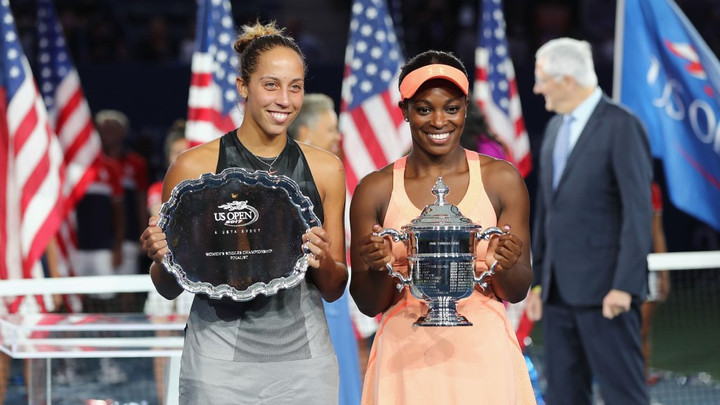 Sloane Stephens talks to Jimmy Kimmel about Beating Madison Keys at the US Open