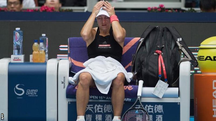 China Open: Angelique Kerber out, Naomi Osaka through to quarter-finals