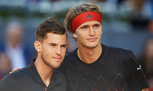 Dominic Thiem makes Rafael Nadal and Roger Federer confession about Alexander Zverev