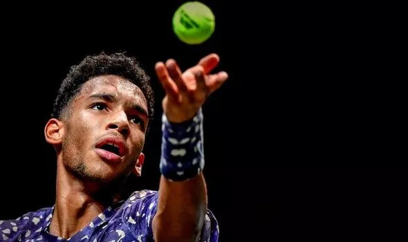 Auger-Aliassime talks about ousting top three in men's tennis
