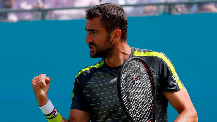 Marin Cilic flies through opener at Fever-Tree Championships