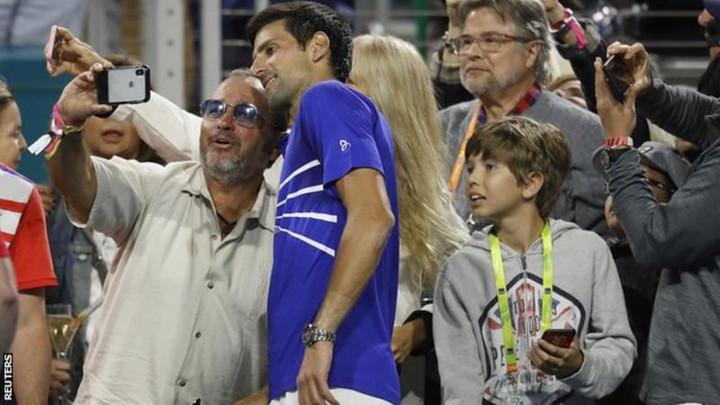 Miami Open: Novak Djokovic through but Dominic Thiem is out