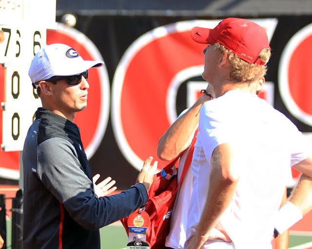 Georgia men's tennis prepares for marquee fall event in ITA All-America Championships