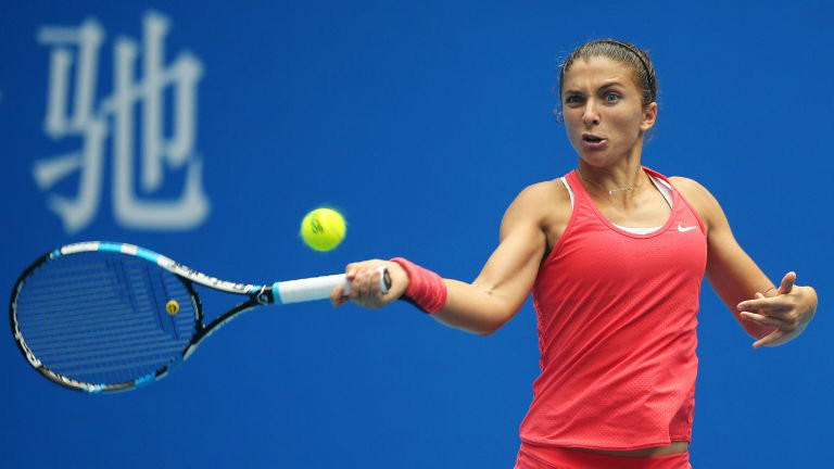 Errani pictured during a game at the 2015 China Open Errani pictured during a game at the 2015 China Open