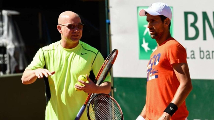 Novak Djokovic: Former world number one splits with head coach Andre Agassi