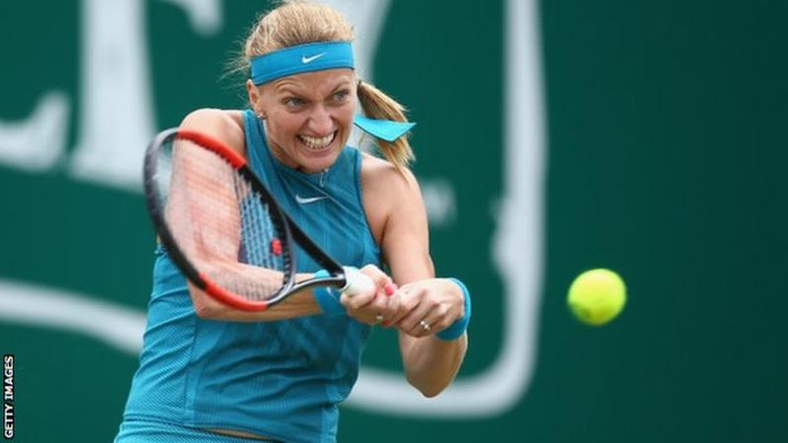 Petra Kvitova to face Magdalena Rybarikova in Birmingham final