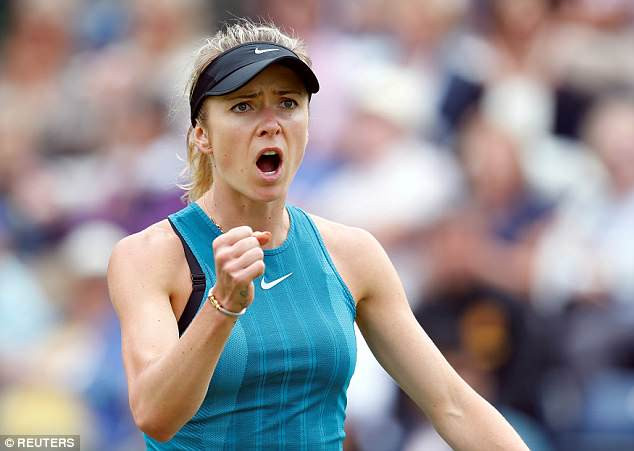 Elina Svitolina into Nature Valley Classic quarter-finals