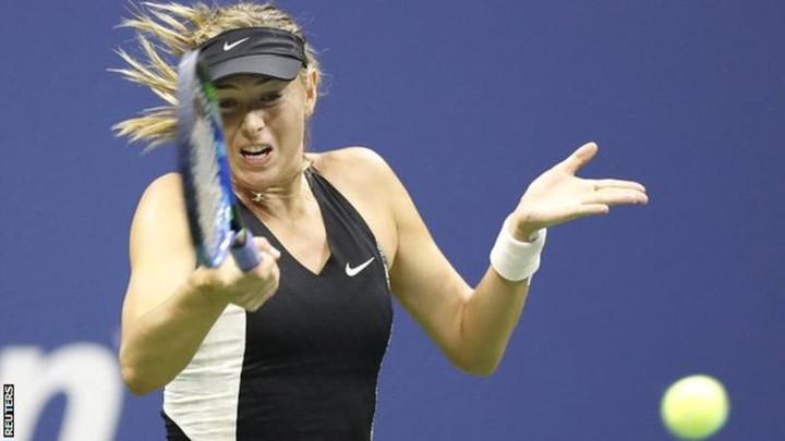 US Open: Maria Sharapova sets up Jelena Ostapenko match after second-round win