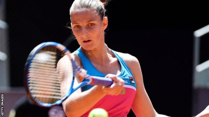 Madrid Open: Simona Halep's run ended by Karolina Pliskova