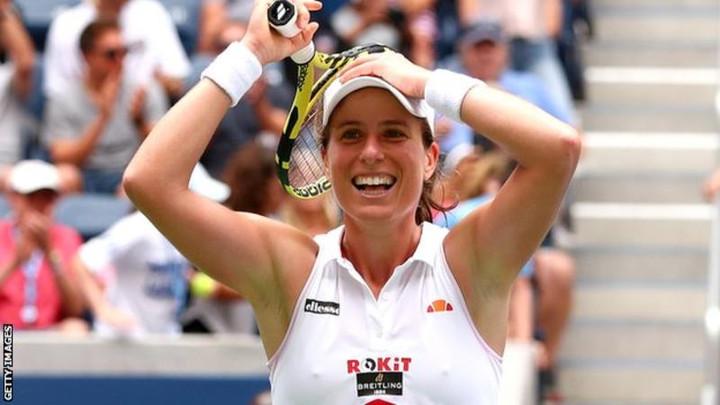 Johanna Konta beats Karolina Pliskova to reach quarter-finals