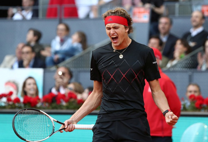 Madrid Open: Alexander Zverev defeats Dominic Thiem for third Masters title