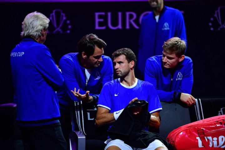 Laver Cup: Grigor Dimitrov and Kyle Edmund send Team Europe 2-0 in front