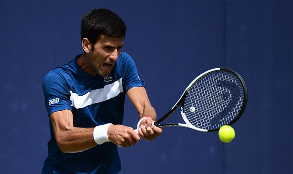 Novak Djokovic sets up Grigor Dimitrov clash with comfortable John Millman win at Queen's
