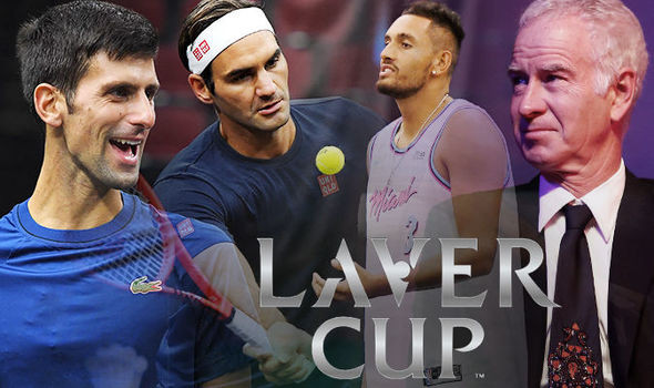 Laver Cup 2018 results Team Europe vs Team World scores