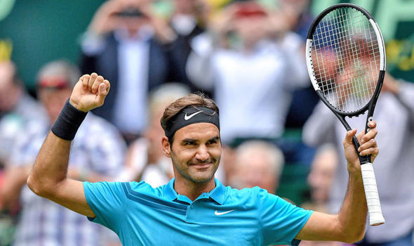 Roger Federer saves match points to beat Benoit Paire in Halle Open