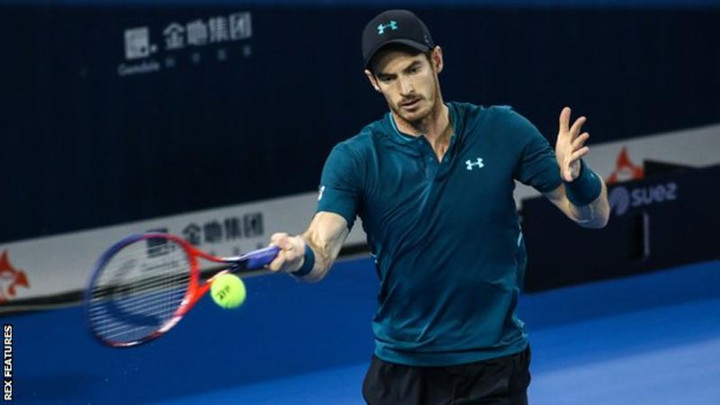 Andy Murray beats David Goffin to reach Shenzhen Open quarter-finals