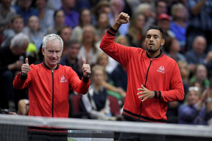 Nick Kyrgios and Stefanos Tsitsipas join Federer and Nadal at Laver Cup