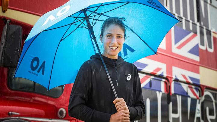 Johanna Konta confident she is on right path for Australian Open