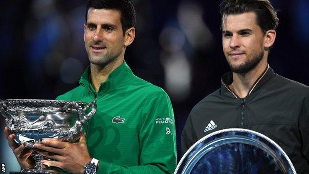 Australian Open: Novak Djokovic beats Dominic Thiem to win 17th Grand Slam