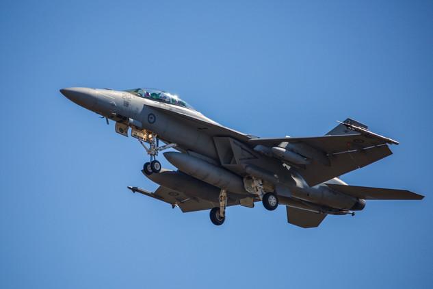 F18 at War Games in Darwin - NT