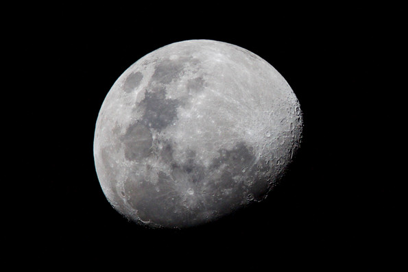 View of the Moon from Darwin - NT