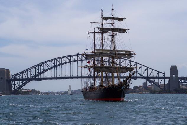Tall Ship - James Craig, Sydney Harbour - NSW