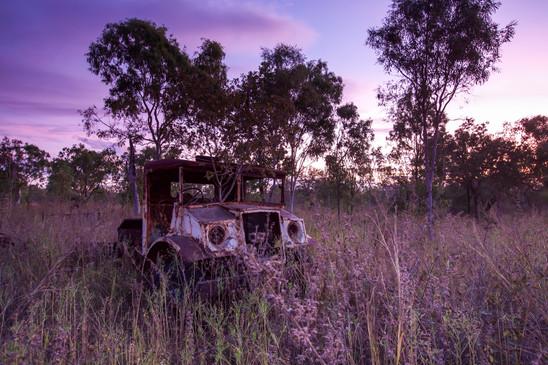 "Old ""Blitz"" Truck, Lorella Springs - NT"