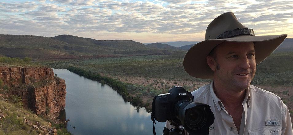 Jason at Branco's Lookout, El Questro