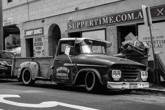 Old Car, Sydney - NSW