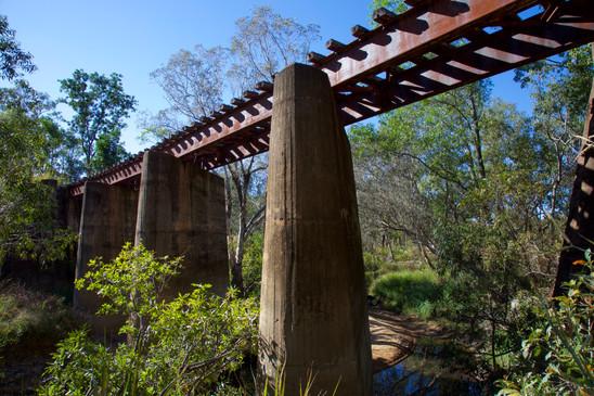 Rail Bridge, Snake Creek Ammo Dump, Darwin - NT