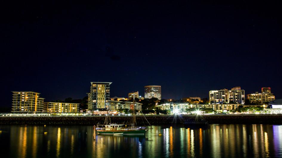 Darwin Waterfront at Night - NT