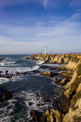 Point Arena Lighthouse - Highway 101 - USA