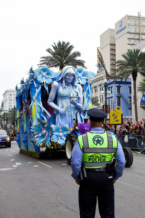 Mardi Gras Parade 2020 - New Orleans - USA