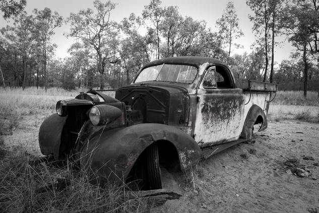 Old Car, QLD Outback