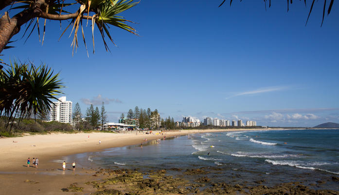 Alex Headland Beach, Sunshine Coast