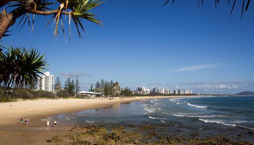 Alex Headland Beach, Sunshine Coast