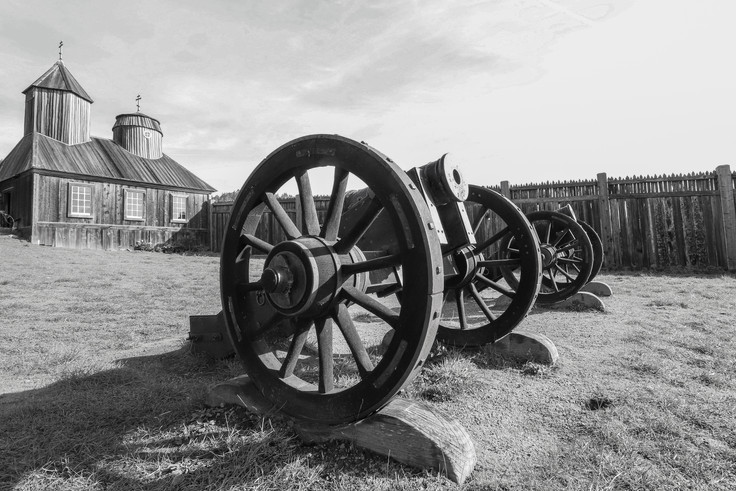 Canon's at Fort Ross, Sonoma County, California - USA