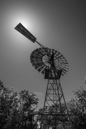 Windmill, Outback Queensland