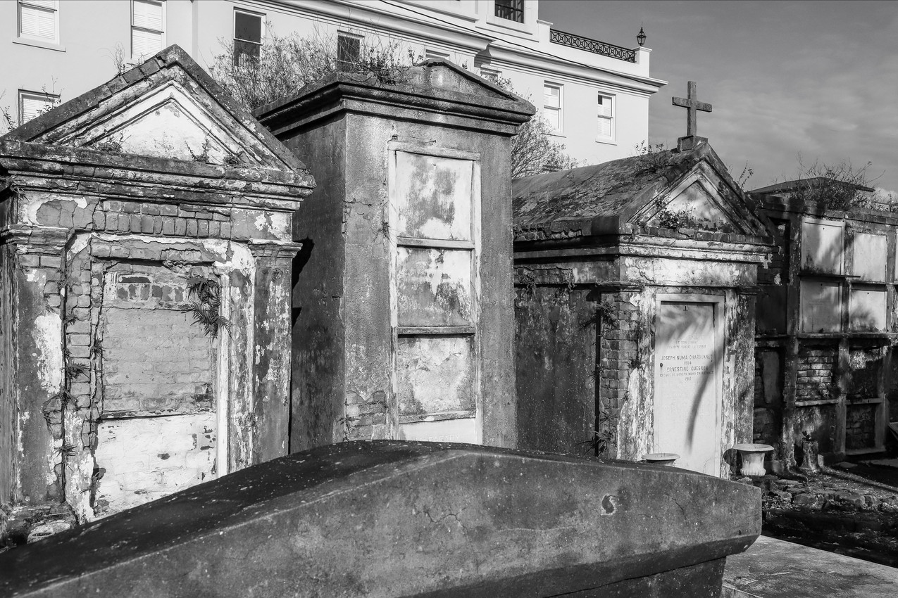 Saint Louis Cemetery No.1 - New Orleans, Louisiana - USA