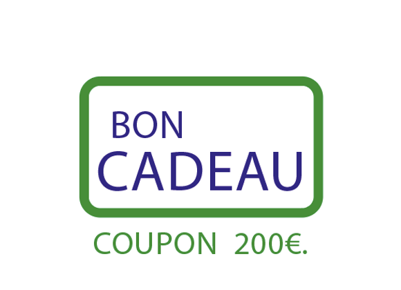 Bon cadeau : COUPON 200€