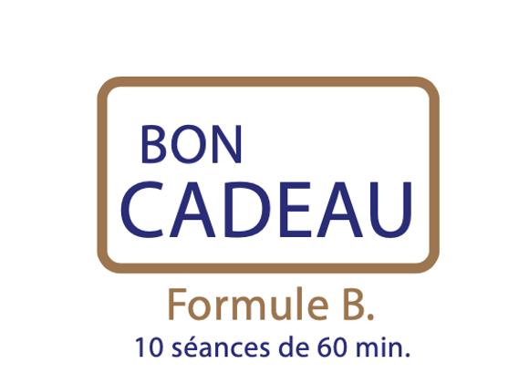 Bon cadeau Formule B : 10h