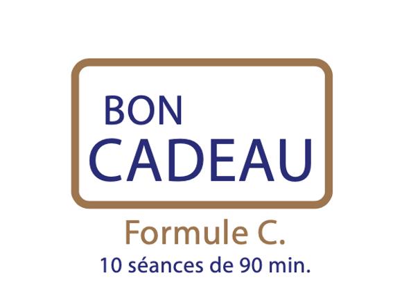 Bon cadeau Formule C : 10 séances