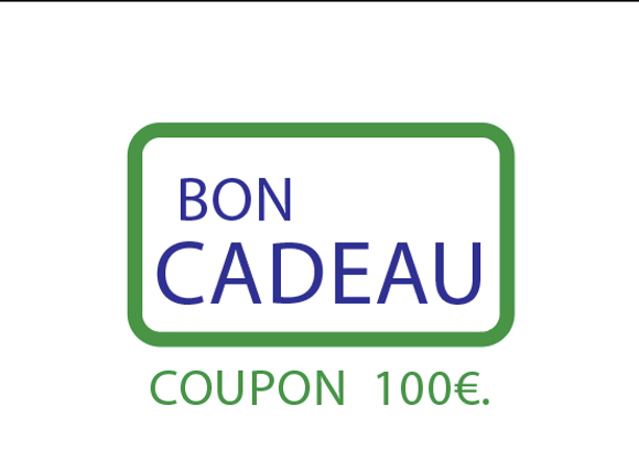 Bon cadeau : COUPON 100€