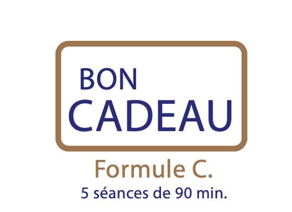 Bon cadeau Formule C : 5 séances